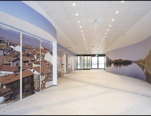 Finiture interne nel nuovo Presidio Ospedaliero di Chivasso